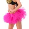 женская юбка розового туту, очень сексуально многоуровневые мини - тюль юбки дамы девочек свадьбу балет короткий мяч платье платье балет щелкунчик