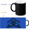 Snoop Doggy 350мл / 12 унций Heat Reveal Mug Color Change Чашка кофе Чувствительные морфинг-кружки Волшебная чашка для чайных чашек чашка для яйца colour caro