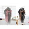 малого @ моды женщин леди мягкой шарфы шаль шею завернуть цветок шарф горошек шарфы анна чапман шарф