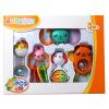 Oubi (AUBY) развивающие игрушки 5 коробочных погремушек детские детские колокольчики подарочные комплекты игрушки 463124DS