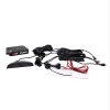 racing 4 Car Auto Back up Sensors Reverse Radar System Alarm Kit Rear Parking Sensors with LED Display auto paper auto take up reel system for all roland sj sc fj sp300 540 640 740 vj1000