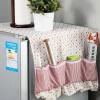 ОРЗ холодильник пыли доказательство крышка решетки Мути-функциональный мешок кухня холодильник сумка для хранения орз кухня холодильник боковины хранения стеллаж холодильник мульти слой боковой ярус держатель трещины хранения