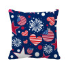 USA Flag Love Heart Star Festival Square Throw Pillow Insert Cushion Cover Home Sofa Decor Gift christmas cartoon home decor cushion throw pillow cover