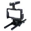 YELANGU YLG0905A Стабилизатор для видеокамеры для видеокамер для Sony A6000 / A6300 / A6500 (черный)