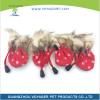 4шт Водонепроницаемая зимняя собака для собак Обувь против скольжения Дождь снега Обувь Толстый Теплый для маленьких кошек Собаки нобивак rabies иммунизация против бешенства собак и кошек