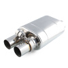 Ryanstar Racing Car Stainless Steel 3 Outlet 3Inlet Electric Vacuum Activated Exhaust Cutout Exhaust Muffler ladies high quality handbags 100
