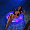Jilong Jilong светодиодные надувные плавающие кольца плавать взрослые дети плавание кольцо надувные кольца надувные насосы с ногой 37331 кольца