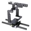 YELANGU YLG0906A Стабилизатор для видеокамеры для видеокамер Panasonic Lumix DMC-GH5 (черный)