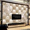 Custom Mural Wallpaper 3D Soft Pack Ювелирные изделия с бриллиантами Роскошные обои для стенной гостиной Гостиная ТВ-фон Murales De Pared 3D