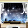 Пользовательские обои 3D Mural Романтическая ночь Луны Звездное небо Обои для рабочего стола Детская комната Зал для отдыха Обои Papel De Parede 3D ароматизатор 3d южная ночь
