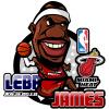 LMA Loma автомобиль стикер баскетбол Baby Ball автомобиль стикер Paul Pierce мультфильм наклейка 3D смешные стикер автомобиля