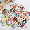 100 PCS Mixed Stickers for Laptop Luggage Car Bicycle Motorcycle Skateboard Phone Home Decor Decal Graffiti Waterproof Sticker diy custom car cartoon stickers hatsune miku vinyl sticker printing carving protection film car funny graffiti sticker decals