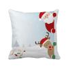 рождество санта - клауса лось пип - новый год площадь бросить подушку включить подушки покрытия дома диван декор подарок лазарева и лось в облаке
