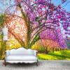 Пользовательские обои для фото 3D Черри Блоссом Дерево Большая роспись Цветочные обои для гостиной Телевизор Диван Фон Спальня Стены 3D