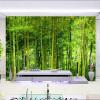 Последние высококачественные Bamboo Wall Paper Living Room TV Sofa Backdrop Настенная картина 3D Природа Пейзаж Домашний декор Papel De Parede 3D tango кпб bamboo 3d digital 1331 33