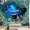 Пользовательские фото обои в европейском стиле ТВ фон обои гостиная спальня детская комната 3D обои настенная роспись пользовательские 3d росписи европейского стиля скульптуры выросли 3d стерео тв фон обои спальня гостиная диван настенная роспись обои