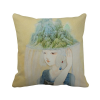 Hats Beauty Chinese Antique Illustrator Polyester Toss Throw Pillow Square Cushion Gift 8pk aqua kem toss in