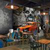 Ресторан Бар Кафе 3D Mural Обои Пространственное расширение Личность Фон Стена Картина Ретро автомобилей Творческий декор Обои ресторан клубы ktv бар потолочные фрески dazzle цветные облака картина маслом фото обои современный творческий декор 3d потолочная фреска