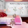 Пользовательский размер фото Европейский 3D стерео балет девушка большая роспись детская комната кирпич узор обои танцевальная музыка комната обои балет щелкунчик
