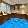 Бесплатная доставка Большой есть маленькая рыба обои гостиная ванная кухня самоклеящиеся пол фрески 250cmx200cm бесплатная доставка ground floor sky penguin3d этаж фона домашнее украшение самоклеящиеся обои пол обои mural 250cmx200cm