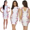 Lovaru ™летом стиль 2015 новых женщин платья женщин вскользь Bodycon мини-платье платье печати платье fiona ferrari платья и сарафаны мини короткие