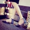 Летние новые богемы плоские женские сандалии сандалии Жемчужные женские тапочки винтажные женские туфли пляжные сандалии плоские с сандалии beira rio сандалии