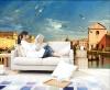 Пользовательские фотообои большие росписи гостиной спальня обои Город Венеция росписи