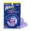 MACK'S беруши импортирует США пулевая стрельба стрельба охранник уха шум оранжевый три нагруженный