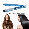 Мини-выпрямитель для волос Iron Ceramic Electronic Nano Titanium Straightening electric ionic hair straightening iron with ceramic plates blue 220v