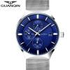 цены на GUANQIN Часы Мужские часы Повседневная мода Кварцевые часы водонепроницаемые часы календаря в интернет-магазинах