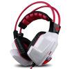 Европа, где (OVANN) X60 шок 7.1 видеоигры гарнитур USB компьютер шлемофон ухо большая профессиональная игровая гарнитура белая атлетическая красное