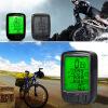 велосипед проводной жк - PC одометр спидометр водонепроницаемый + зеленый подсветкой велосипед geuther велосипед my runner серо зеленый