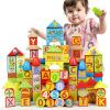 (Dan Ni Qi Te) новые деревянные фрукты игрушки строительных блоки головоломки овощи 12345-летним ящиком для хранения фруктов серьёзности музыки с футляром для хранения CDN-2058