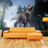 Пользовательские 3D-обои для фото Лес Динозавр Стереоскопическая гостиная Диван-телевизор Фон Обои для стен Картина Большие обои Mural обои для стен в нижнем онлайн