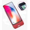 4000mAh Зарядное устройство для iPhone X Power Bank Ультра тонкий внешний аккумуляторный корпус для iphone X 2600mah power bank usb блок батарей 2 0 порты usb литий полимерный аккумулятор внешний аккумулятор для смартфонов светло зеленый