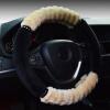 Автомобиль зима Генеральный плюшевые рулевое колесо крышка мягкие имитация шерсти Аксессуары mopar 4801490aa auto part