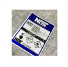 High quality For Nos N2o Reflective car sticker and decals cool modified accessories blue