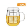 Lilac glass office Cup Cup belt cover male and female thickened belt filter cup tea cup package nuova simonelli bottomless filter holder portafilter with 3 cup filter