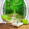 Обои для рабочего стола 3D обои для рабочего стола Стены 3D пейзаж фон стена гостиная ванная комната домашнее украшение спальня обои настенная роспись