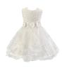 Девушки розы цветок лук галстук принцесса платье платье тюль свадебное платье невесты крещение платье платье sweewe sweewe sw007ewrql56