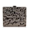 Milisente Золото Винтаж акриловые милые формы вечерняя сумка случайные дамы сцепление кошелек металлическими шаудлер цепи