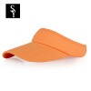 Экстравагантный (шишечный) BQM021ju Шляпа Visor Hat Unisex Hat Cap Бейсболка Sun Hat Orange colors cotton unisex visor hat sun cap adjustable golf tennis for men women kid white