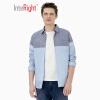 ВЗАИМОСВЯЗКА повседневная рубашка мужская тенденция смешанные цвета хлопок джинсовая рубашка светло-голубой XL 41