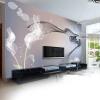 Пользовательские 3D-обои для фото Smoke Clouds Абстрактные художественные обои Современный минималистский диван для спальни TV Home Decor Wall Mural Paper