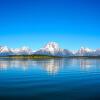 Пользовательские 3D-обои для фото Blue Sky Lake Вода Природа Ландшафт Декоративная картина Диван ТВ Заставка Обои для спальни для спальни