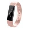 ID115 Smart Bracelet Fitness Tracker Step Counter Activity Monitor Band Вибрация Браслет win max body exercising fitness step band chest developer red black