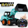 2018 New Wire-controlled electric remote control truck toy Children's bulldozer excavator model Gifts for children ocday rc submarine 27mhz 6ch seawolf high speed remote control electric navy diving submarine model toys for children gifts