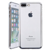 Weiji iPhone 7/8 Plus Phone Case Cover Прозрачный чехол для телефона черный для iPhone 7/8 Plus чехол lab c slim soft для iphone 7 plus прозрачный