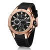 MEGIR Мужские спортивные часы Хронограф Силиконовый ремешок Кварцевая армия Военные часы Часы Мужчины Лучшие бренды Роскошные бренды