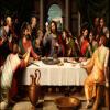 Пользовательские обои для рабочего стола с картинками Европейская картина маслом Тайная вечеря Большая картина на стене картина 1245262